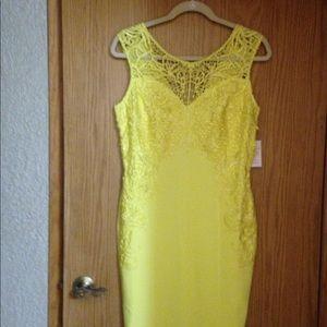 NWT Gorgeous yellow dress by Venus